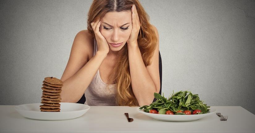 Você realmente está com fome ou desejo decomer?